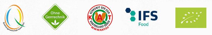 Logos der Zertifkate